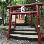 金運神社 「新屋山神社 奥宮」へのアクセス方法